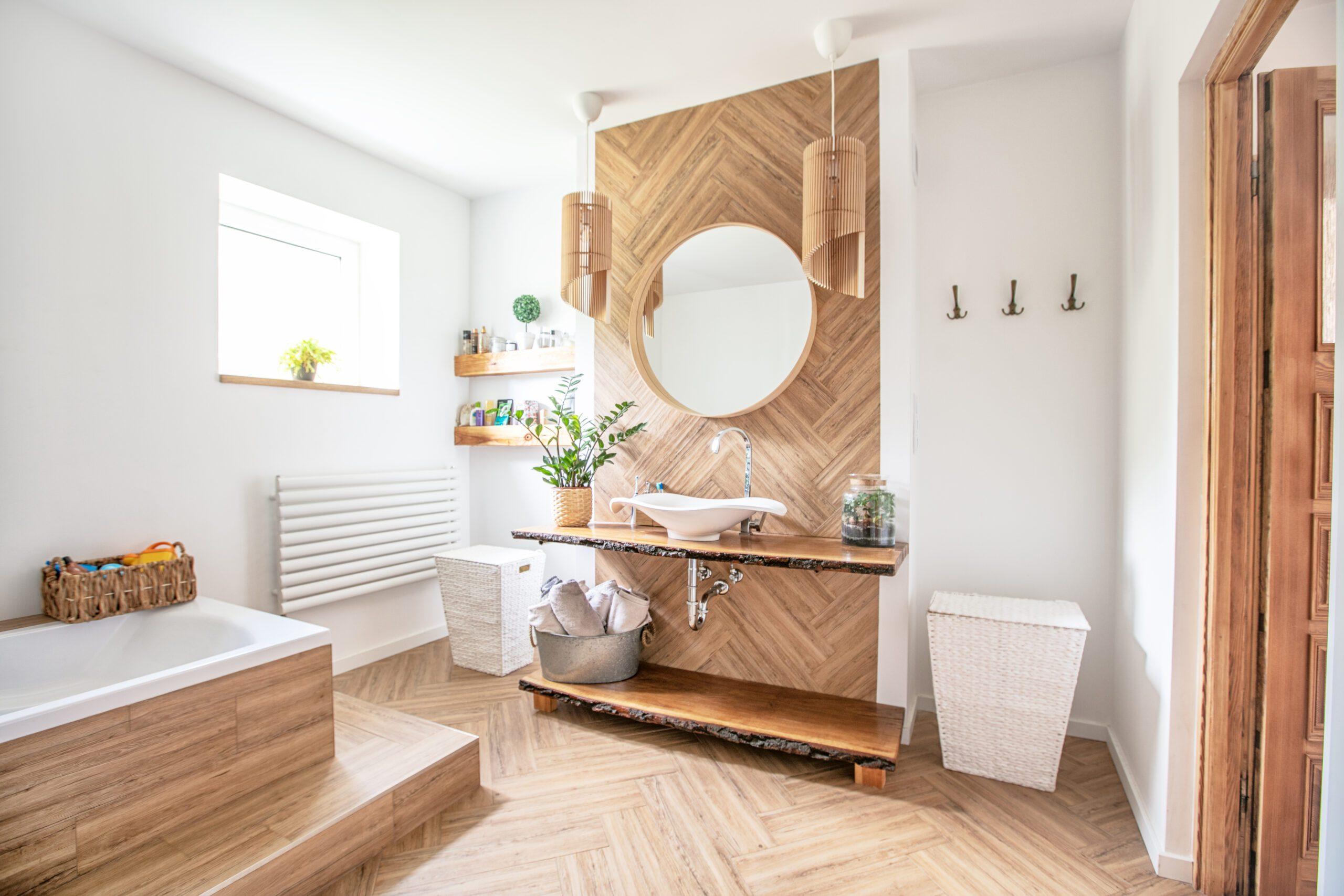 Salle de bain déco cocooning Avéo Styles & Travaux