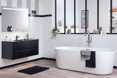 Salle de bain style industriel Avéo Styles & Travaux