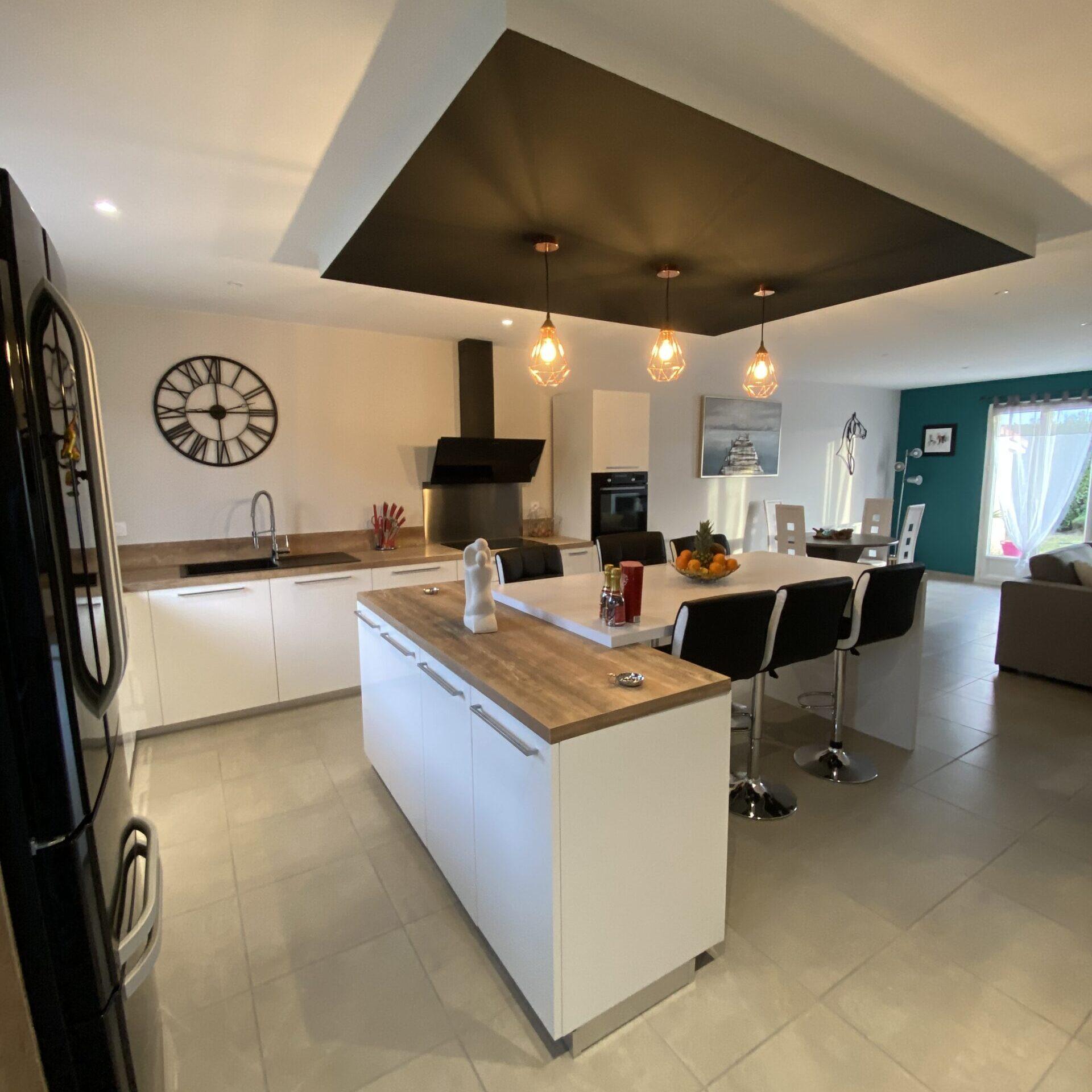 Rénovation d'espace cuisine à Saint-Etienne (42)