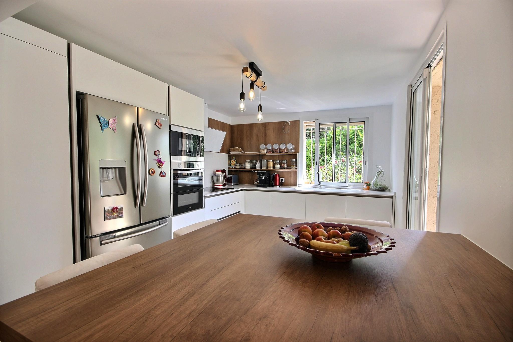 Rénovation de cuisine réalisé par Avéo